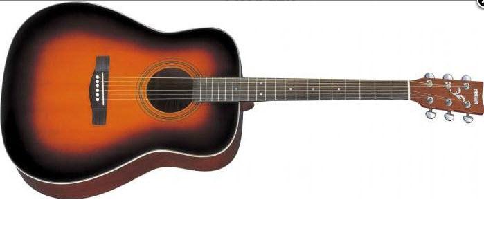 Акустическая гитара YAMAHA F370 (TBS) Дредноут / вестерн, 21 лад