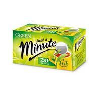 Чай в пакетиках Just a Minute, зелёный, 1,4g*20 шт