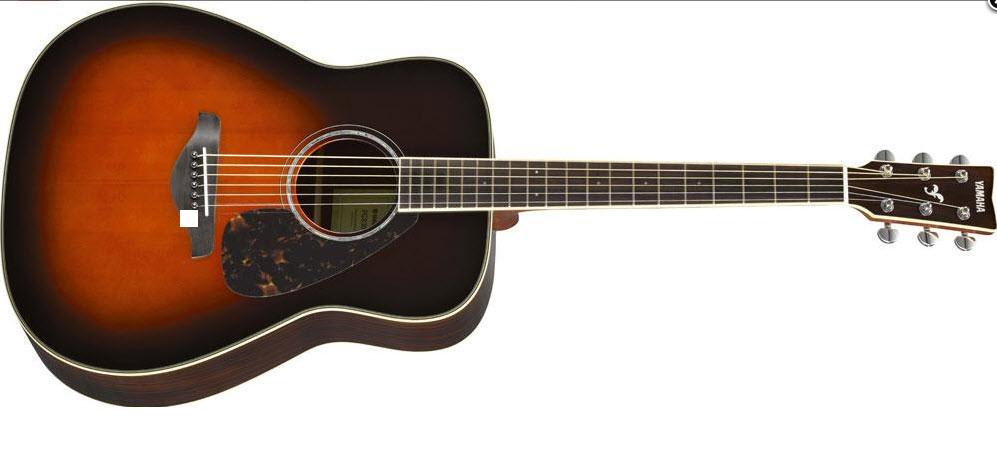 Акустическая гитара YAMAHA FG830 (TBS) Дредноут / вестерн