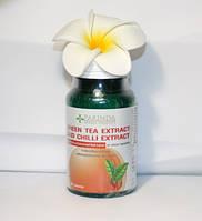 Тайские капсулы для быстрого метаболизма и похудения с чили, зеленым чаем, GMP,60кап