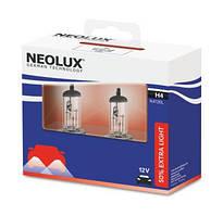NEOLUX ExtraLight Н4 - на 50% больше света комплект 2шт N472EL