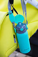 Термос детский Kamille 2019B 450 мл с двумя ручками и поильником