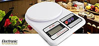 Весы кухонные электронные до 7 кг Electronic Kitchen Scale SF-400