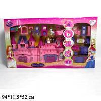 Замок SG-2912N с мебелью, куклами, каретой муз.свет.кор.94*11,5*52 ш.к./4/(SG-2912N)