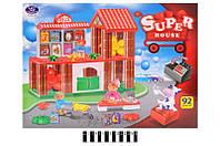 """Конструктор """"Super House"""" 92 дет. в кор. 53*9*41 см. /12/(222-H10)"""