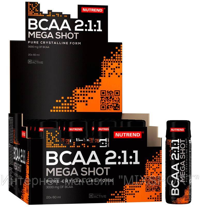 NUTREND - BCAA MEGA SHOT 20x60 ml