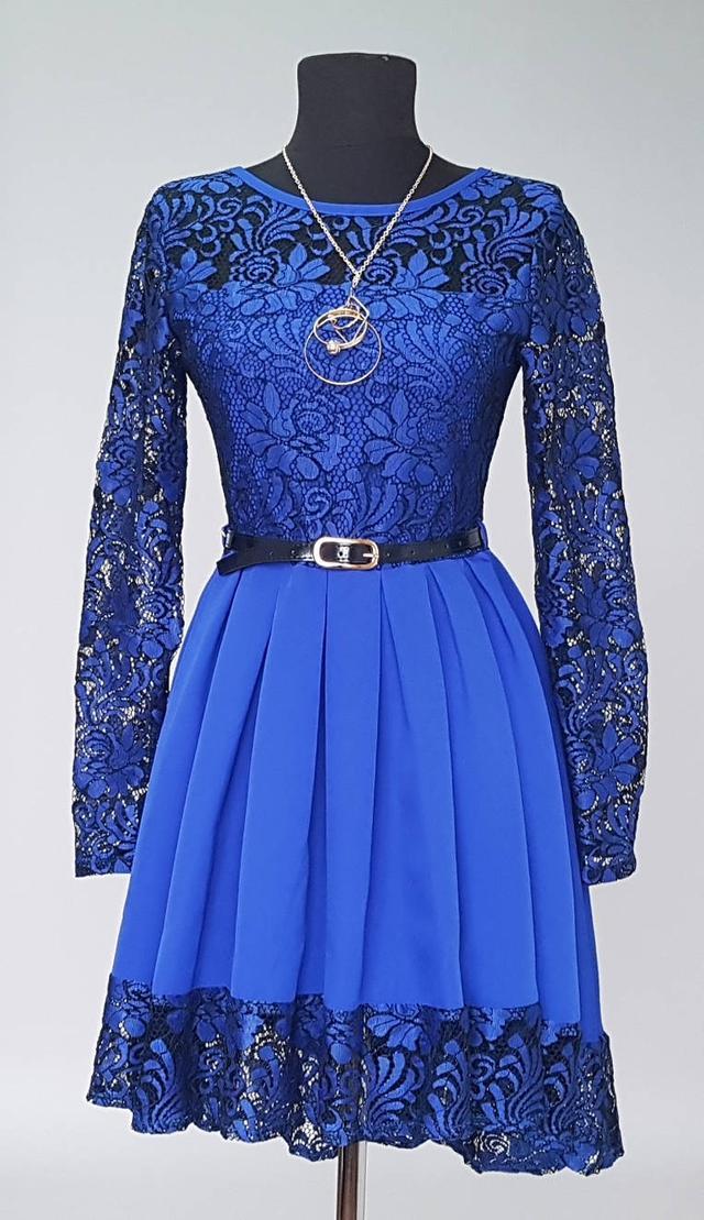 картинка платье подростковое с гипюром