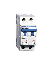 Автоматический выключатель Курск ВМ63  2/40А 2 полюса (Китай)