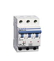 Автоматический выключатель Курск ВМ63  3/25А 3 полюса (Китай)