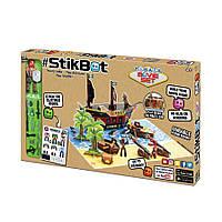 Stikbot S2 Острів скарбів (1 Стікбот, наклейки, аксесуари)