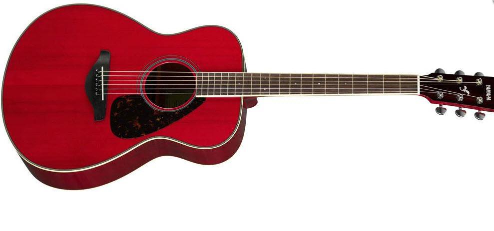 Акустическая гитара YAMAHA FS820 (RR) изайн гитары: Концертный