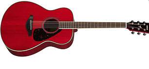 Акустическая гитара YAMAHA FS820 (RR) изайн гитары: Концертный, фото 2