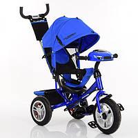 Трехколесный велосипед Turbo Trike M 3115НА-14, синий индиго