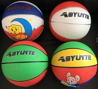 Мяч баскетбольный BT-BTB-0014 резиновый, размер 3 300г 4цв.ш.к./80/(BT-BTB-0014)