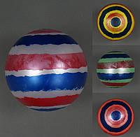 Мяч детский резиновый 4 цвета, 60гр 4 шт. в сетке /125/500/(772-420)