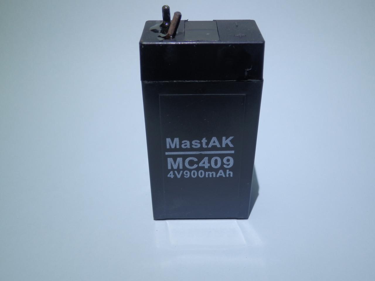 Аккумулятор  MastAK MС409 (4V 0,9Ah)