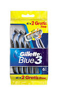 Набор станков Gillette Blue 3 упаковка 6 шт.