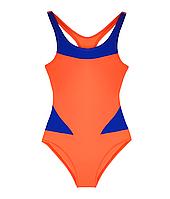 Сдельный детский купальник для плавания, бассейна