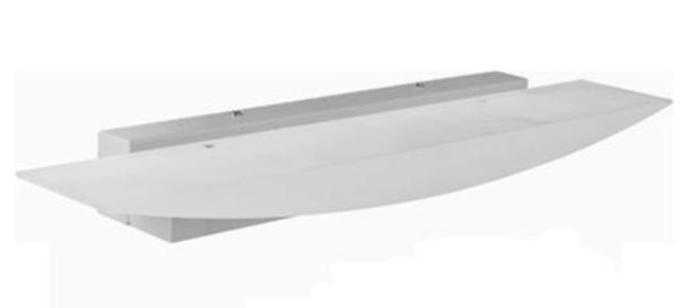 Светодиодное настенное бра RODOS-12 12W 4000K белый код.59224