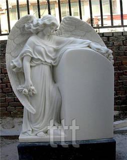 Памятник из белого мрамора ангел памятник в сочи в горах