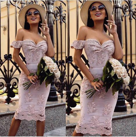 Нарядное элитное женское платье из новой коллекции , фото 2