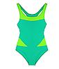 Цельный детский купальник для бассейна и плавания