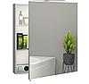 Шкаф зеркальный Garnitur.plus в ванную с LED подсветкой 60 см