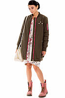 Женское пальто с мехом на подкладе Pronto Moda