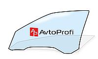 Стекло передней двери левое Audi A4 (2001-2008)
