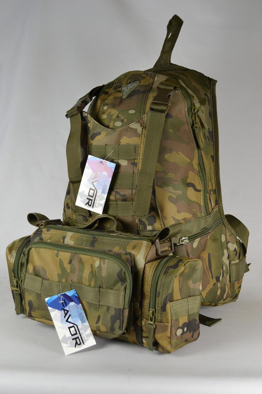 Рюкзак с подсумком камуфлированные 310-01-М