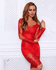 Нарядное вечернее элитное женское платье , фото 2