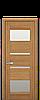 Дверное полотно  IBIZA со стеклом ,цвет в ассортименте