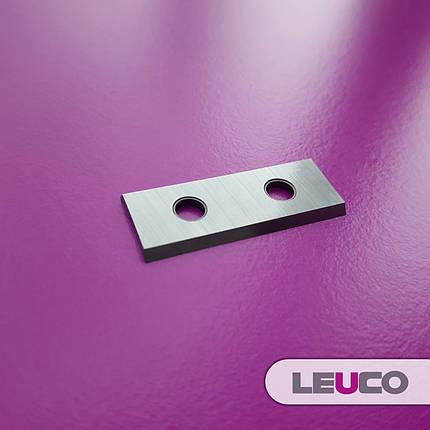 Сменные поворотные твердосплавные ножи (пластины) Leuco 30x12x1,5, фото 2