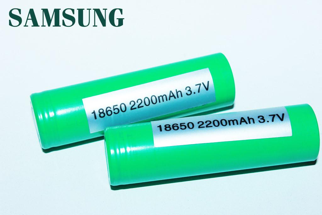 Аккумулятор лицензионный Samsung 18650 2200 mAh