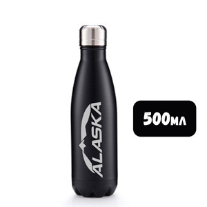 Термобутылка ALASKA Winner 500 ml Deep Black