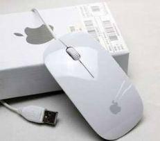 Компьютерная Mышка Apple А1 (проводная) (черная, белая)