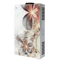Газовая колонка Rocterm ВПГ 10АЕ Цветы проточный газовый водонагреватель