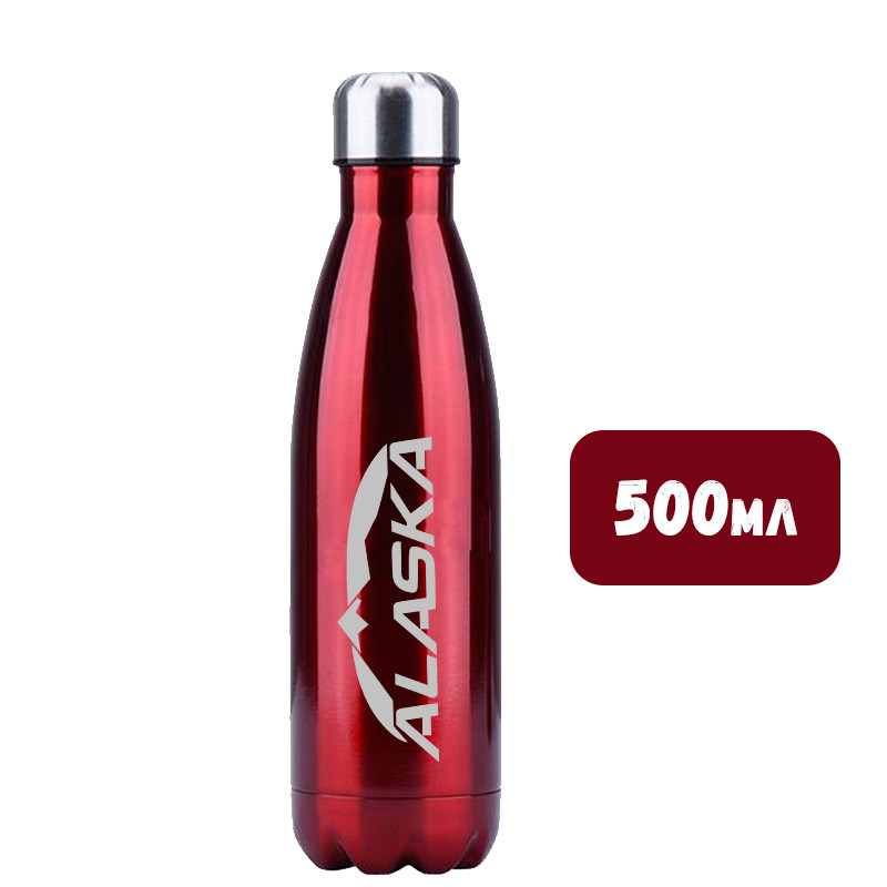 Термобутылка ALASKA Winner 500 ml Cherry Red