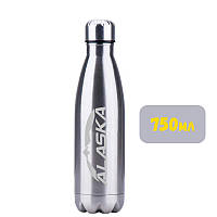 Термобутылка ALASKA Winner 750 ml Metallic Silver