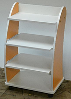 Косметологическая тележка с выдвижными полочками, фото 1