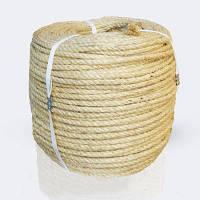 Канат сизалевый 8 мм х 50 метров - веревка сизалевая
