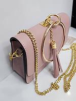 Женская маленькая сумка из натуральной кожи