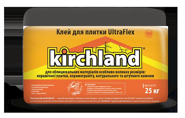 Клей для плитки Кirchland UltraFlex, 25кг
