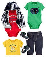 Обзор тканей, из которых шьется детская одежда Carters и OshKosh