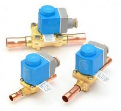 Электромагнитные клапаны и катушки EVR/EVRH Danfoss
