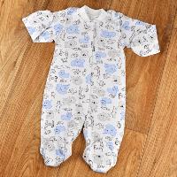 Человечек для новорожденных (разные цвета)