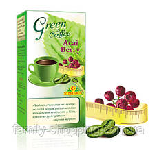 """Зелений кава """"Green coffee & Acai Berry"""" Лайффорте (для схуднення)"""