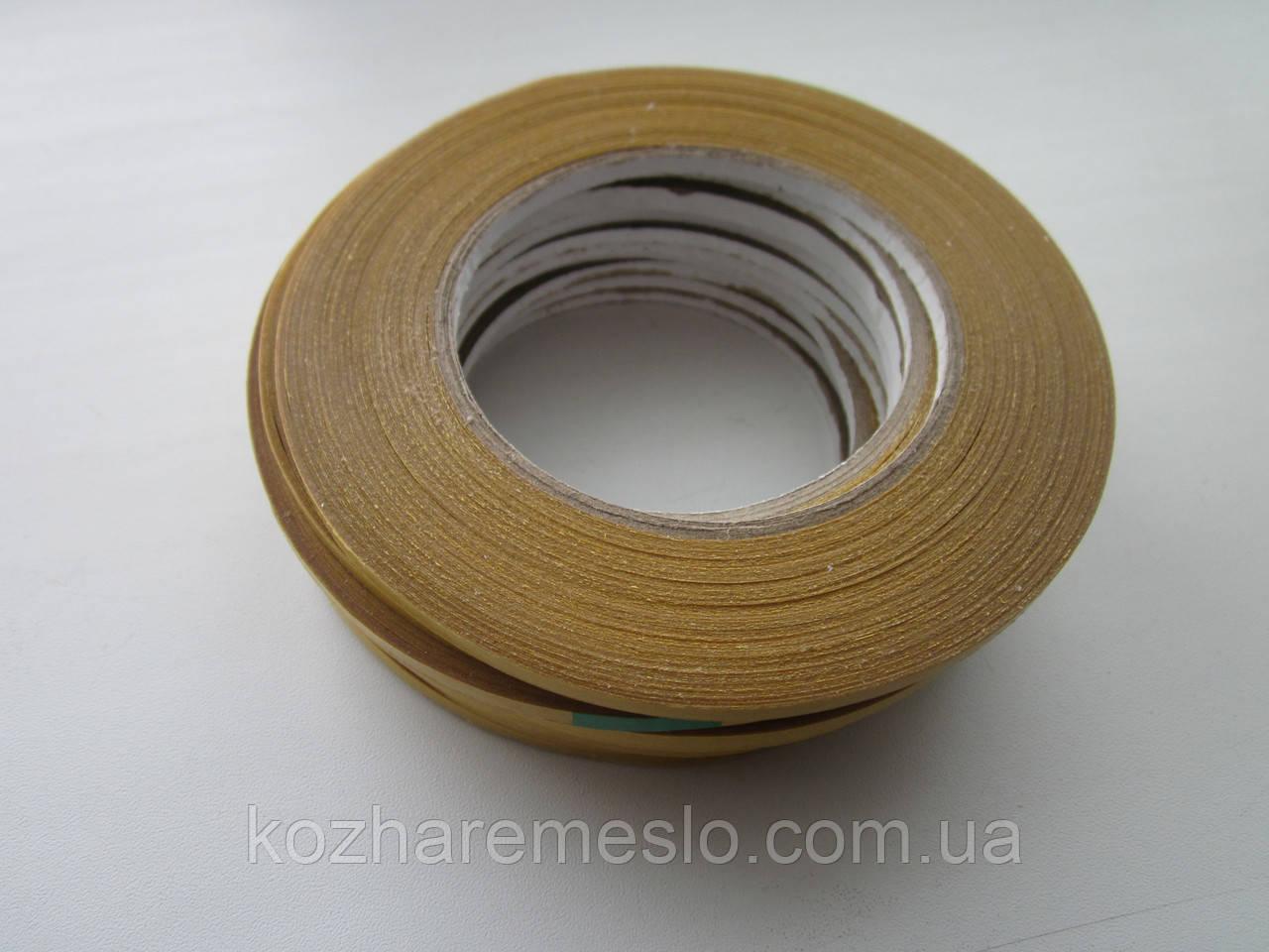 Скотч двухсторонний, прозрачный 6 мм х 50 м (полипропиленовый)