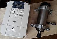Комплект: шпиндель для ЧПУ 2,2 кВ, инвертор 2,2 кВ, крепление, фото 1