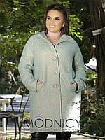 Красивое пальто Nadezhda с ультрамодными рукавами реглан и актуальной  подкладкой (3 цвета) (133 3db54cff922e2